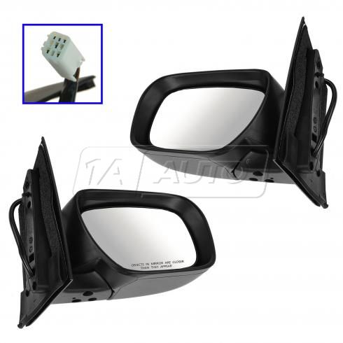 09-12 Mazda CX7 Power Heated Turn Signal PTM Mirror PAIR