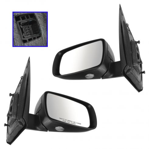 05-07 Ford Freestyle Power Heated Puddle Light PTM Mirror PAIR