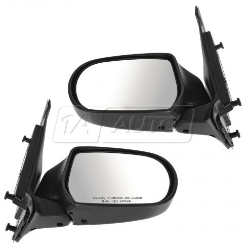 00-06 Mazda MPV Manual Textured Mirror PAIR