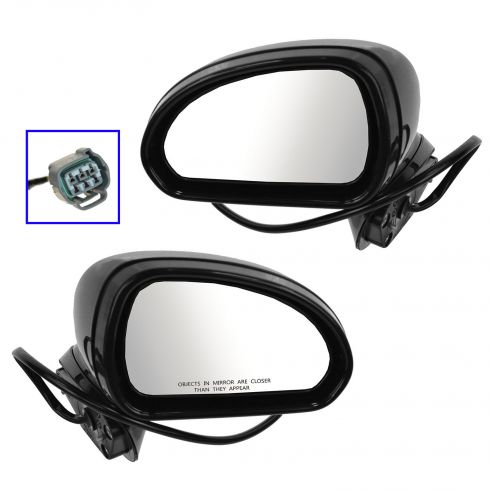 06-12 Mitsubishi Eclipse Power PTM Mirror PAIR