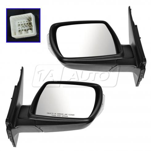 09-12 Kia Sedona Power Heated Signal PTM Mirror PAIR