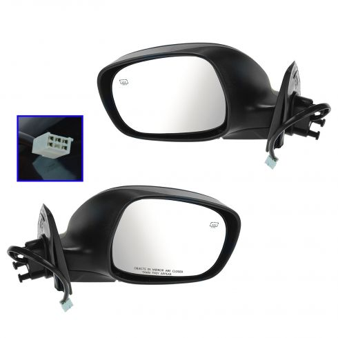 03-06 Toyota Tundra Reg & Access Cab Power Heated PTM Mirror PAIR