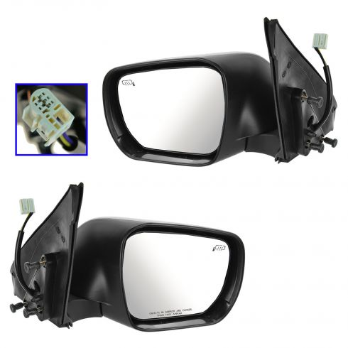 06-13 Suzuki Grand Vitara Power Heated PTM Mirror PAIR