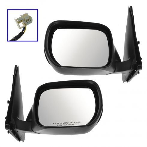 06-13 Suzuki Grand Vitara Power PTM Mirror PAIR