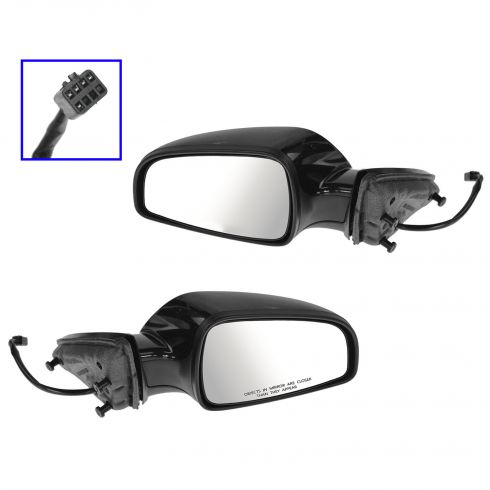 07-09 Saturn Aura; 11-12 Chevy Malibu Power Heated PTM Mirror PAIR