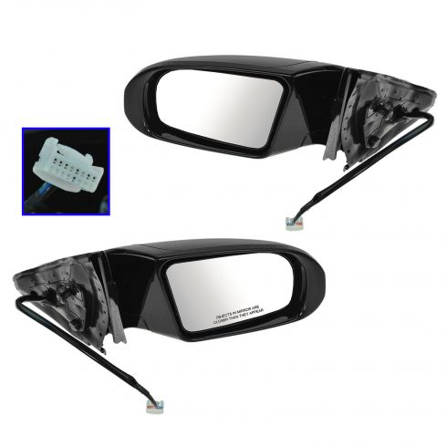 09-13 Nissan Maxima Power Heated Signal PTM Mirror PAIR