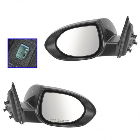 09-13 Mazda 6 Power PTM Mirror PAIR