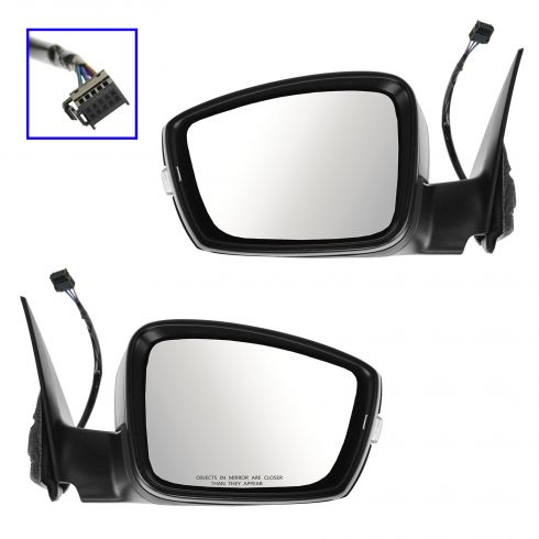 12-14 VW Beetle Power Heated Signal PTM Mirror PAIR
