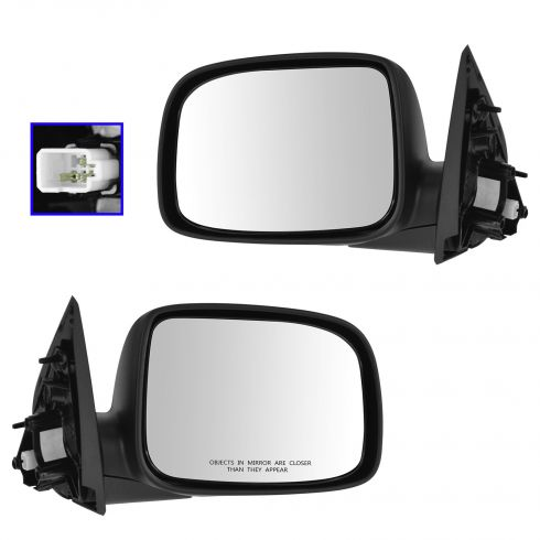 09-12 Canyon, Colorado Ext & Crew Cab Power PTM Mirror PAIR
