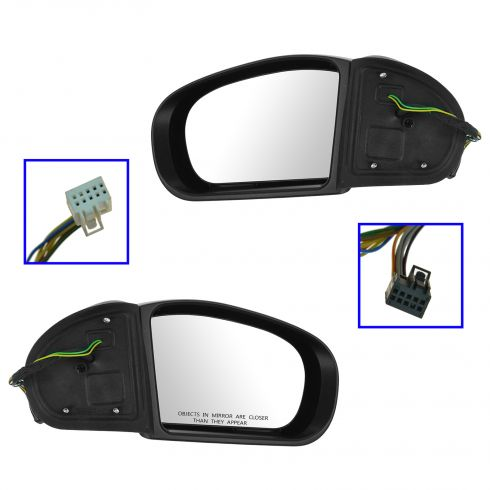 07-09 Mercedes W211 E-Class Power Heated Memory Signal Power Fold Mirror PAIR