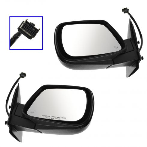 05-10 Jeep Grand Cherokee Power Heated Memory Textured Mirror PAIR