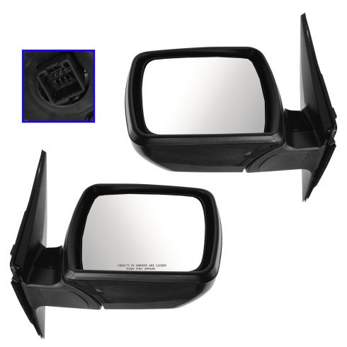 12-13 Kia Soul Power PTM Mirror PAIR