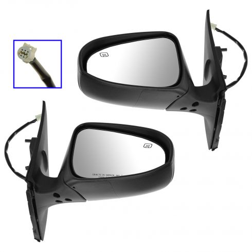 14 Toyota Corolla Power Heated PTM Mirror PAIR