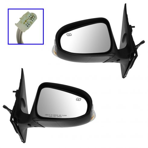 14 Toyota Corolla Power Heated Signal PTM Mirror PAIR
