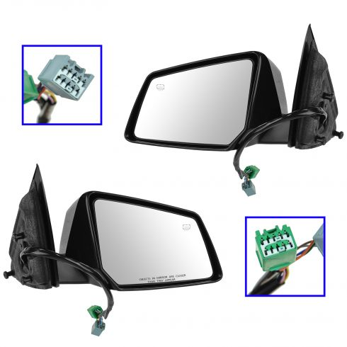 07-13 Outlook, Traverse, Acadia Power Heat Memory Signal Pwr Fold Mirror PAIR