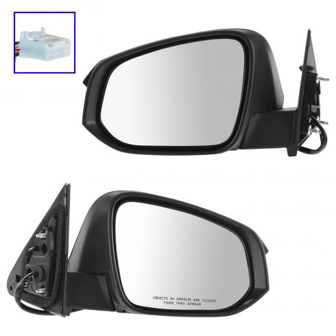 14-15 Toyota Highlander, Highlander Hybrid Power Heated w/BSM, Turn Signal, Pud Lt PTM Cap Mirror PR