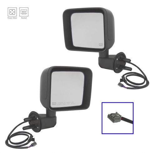 2014 Jeep Wrangler Power, Heated w/PTM Cap Mirror PAIR