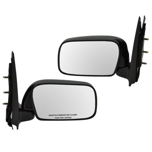 00-05 Toyota Echo Manual Mirror Pair