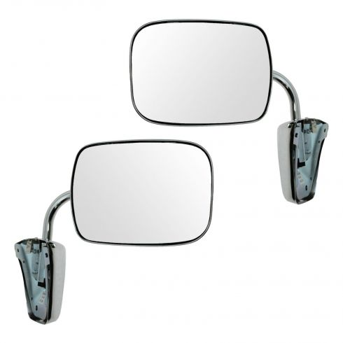 73-91 Blazer Pickup Manual Mirror Stnlss Pair (Dorman)