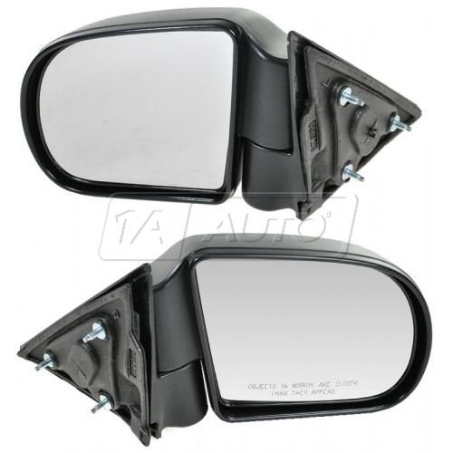 98-04 S10 Manual Mirror Black Pair