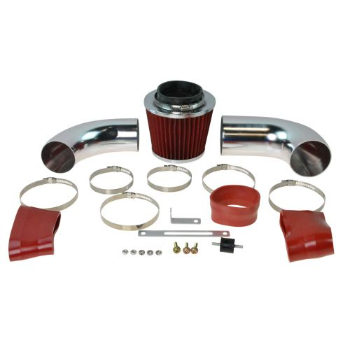 96-01 Jimmy; 96-04 S10, S15; 96-05 Blazer 4.3L Cold Air Intake w/ Red Filter