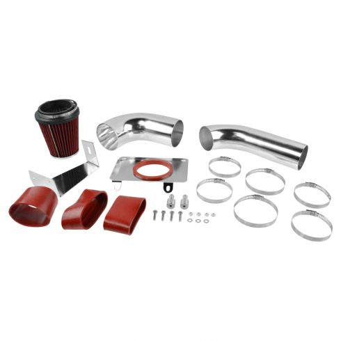 87-93 Ford Mustang 5.0L  Cold Air Intake w/ Red Filter