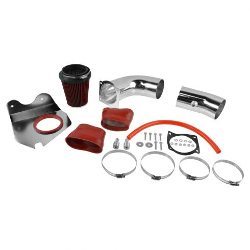 94-95 Ford Mustang GT 5.0L Cold Air Intake w/ Red Filter