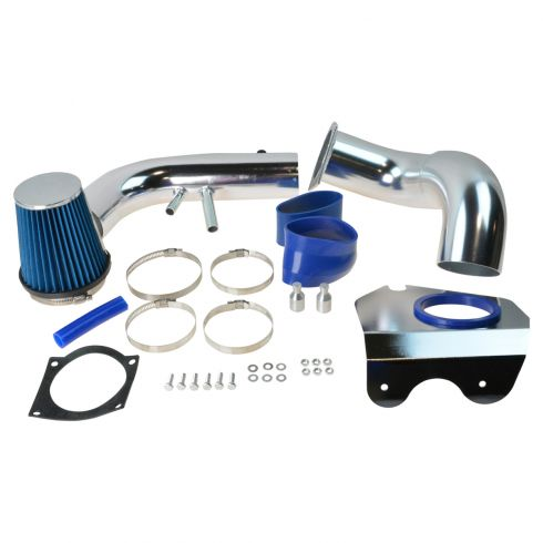 96-04 Ford Mustang GT 4.6L Cold Air Intake w/ Blue Filter