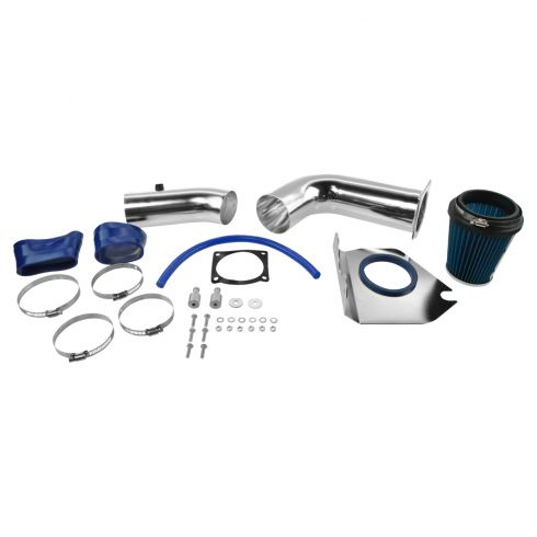 99-04 Ford Mustang 3.8L Cold Air Intake w/ Blue Filter