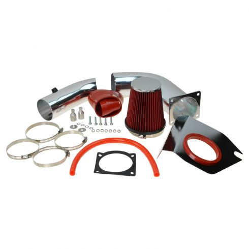 99-04 Ford Mustang 3.8L Cold Air Intake w/ Red Filter