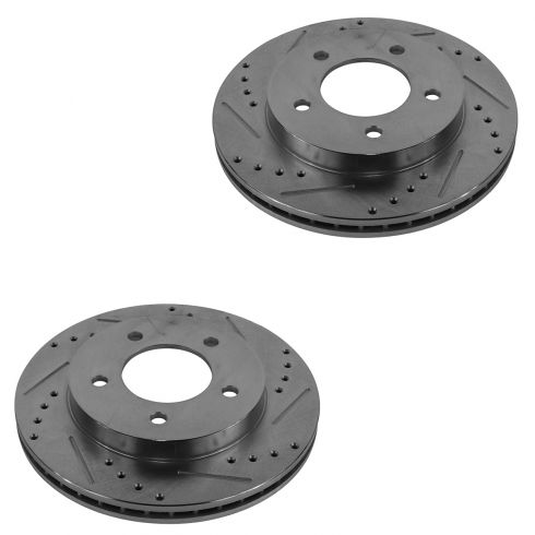 1997-04 Ford F150 F250 Performance Disc Brake Rotor Front for 4wd With 5 Lug