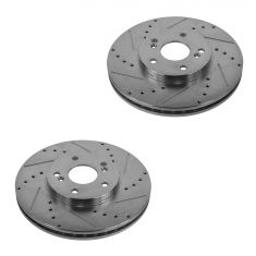 1999-07 Acura Honda Accord Odyssey Pilot Performance Disc Brake Rotor Front Pair