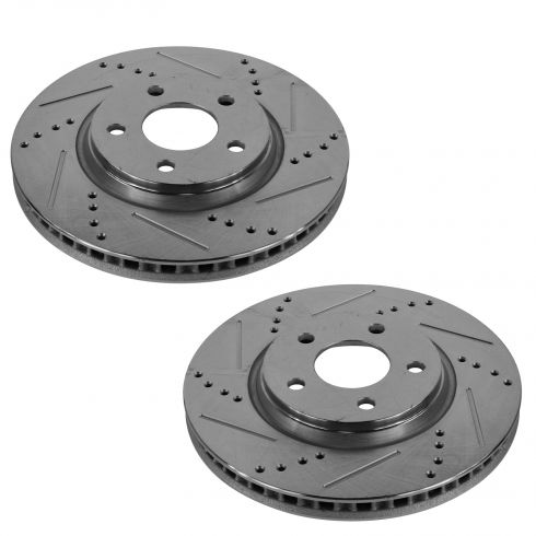 04-09 GM Fwd Front Performance Disc Brake Rotor Pair