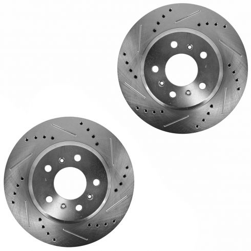 06-11 Lucerne; 06-13 Impala; 06-07 Monte Front Performance Disc Brake Rotor Pair