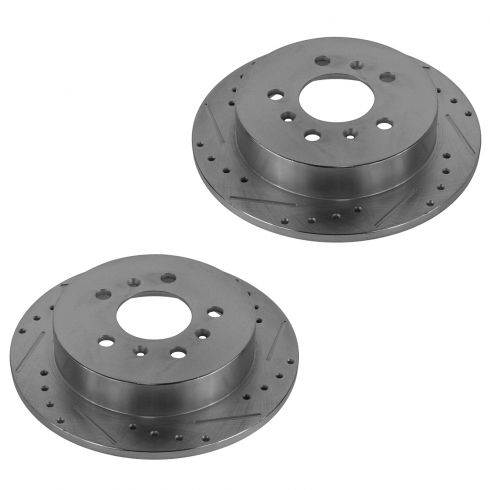 09 Lacrosse; 06-10 Chevy Impala; 06-07 Monte Rear Performance Disc Brake Rotor Pair