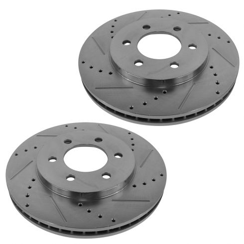 03-06 Expedition, Navigator Rear Wheel Performance Disc Brake Rotor Pair