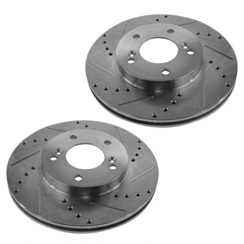 97-01 Integra; 97-01 CR-V Front Performance Disc Brake Rotor Pair