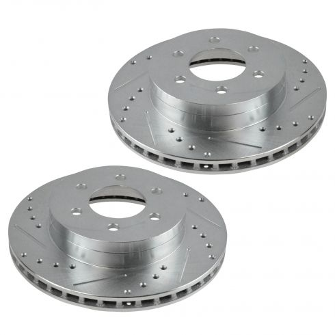 1997-02 Dodge Dakota Durango Front Performance Disc Brake Rotor Pair