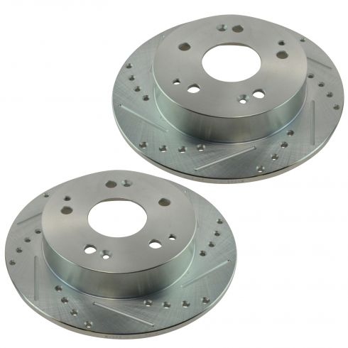 97-01 Integra Type R; 04-05 Civic Rear Performance Disc Brake Rotor Pair