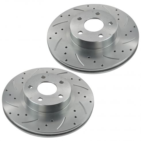 98-13 Subaru Front Performance Disc Brake Rotor Pair