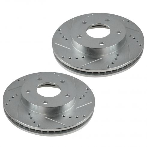 1997-05 S-10 Blazer Jimmy Bravada 4wd Front Performance Disc Brake Rotor Pair