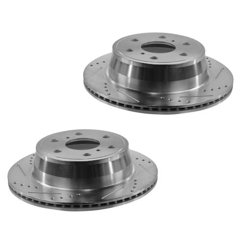 07-13 Escalade, Silverado Rear Performance Disc Brake Rotor Pair