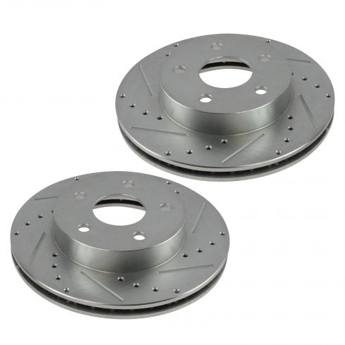 99-04 Jeep Grand Cherokee Front Performance Disc Brake Rotor Pair