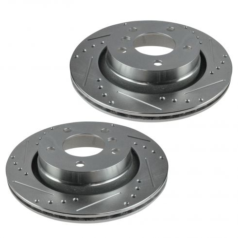 96-05 BMW 3 Series Multifit Rear Wheel Performance Disc Brake Rotor Pair