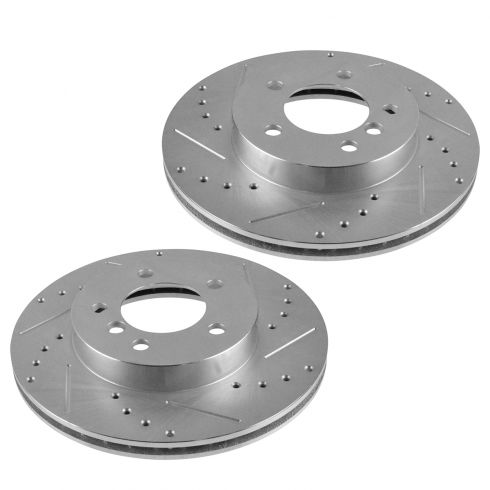 92-05 BMW 3 Series; 97-00 Z3 w/ 2.8L; 99-00 Z3 w/2.5L Front Performance Disc Brake Rotor Pair
