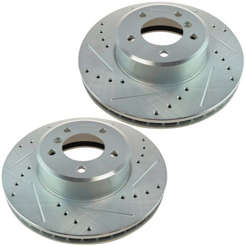 04-07 525i; 08-10 528i; 04-07 530i Front Performance Disc Brake Rotor Pair
