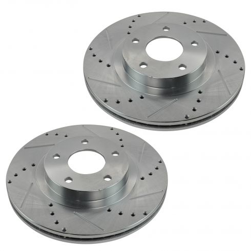 02-04 Infiniti I35; 02-03 Nissan Maxima Front Performance Disc Brake Rotor Pair
