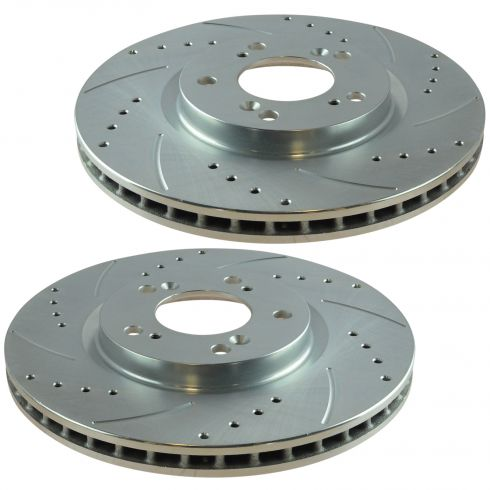 00-09 Honda S2000 Front Performance Brake Rotor Pair