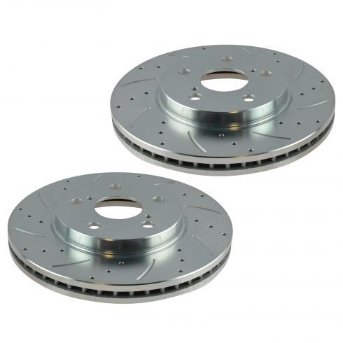 02-10 ES300 IS250 Sienna Solara Avalon, Camry Front Performance Brake Rotor Pair