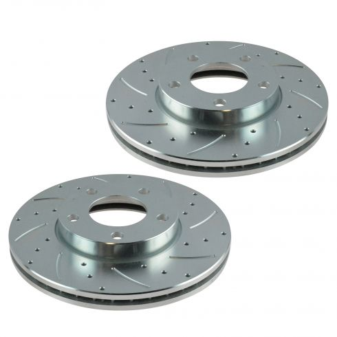 04-11 Mazda 3 2.0L Front Performance Brake Rotor Pair